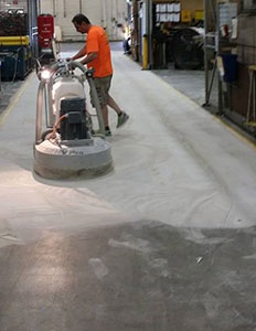 concrete polishing business