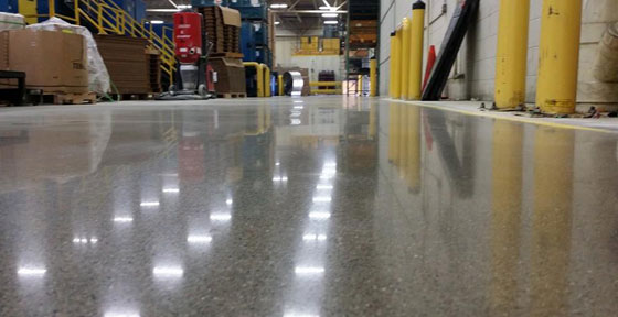 Concrete Polishing Contractors