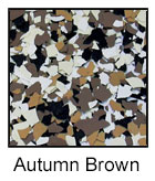 Epoxy Color Chips Autumn Brown