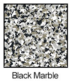 Epoxy Color Chips Black Marble