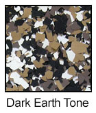 Epoxy Color Chips Dark Earth Tone
