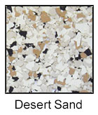 Epoxy Color Chips Desert Sand
