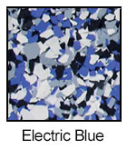 Epoxy Color Chips Electric Blue