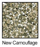 Epoxy Color Chips Camouflage