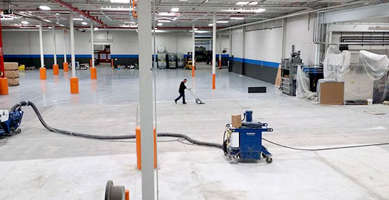 Floor Coating Removal