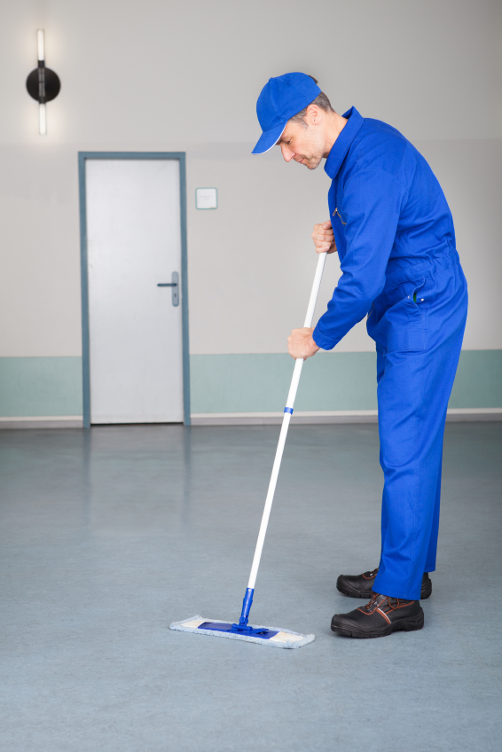 Easy ways to clean industrial epoxy flooring in michigan for Industrial concrete floor cleaner